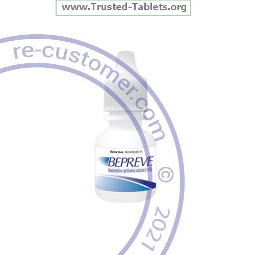 Trustedtabs Pharmacy. bepreve tablets. Uses, Side Effects, Interactions, Pictures