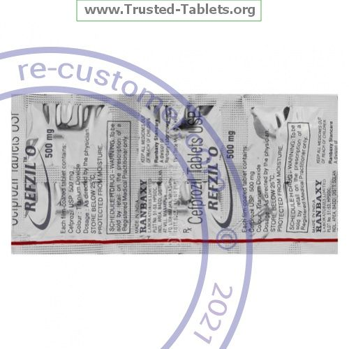Trustedtabs Pharmacy. cefzil tablets. Uses, Side Effects, Interactions, Pictures