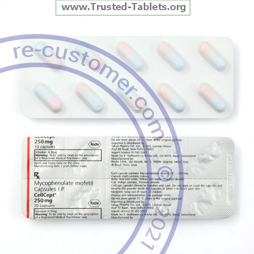 Trustedtabs Pharmacy. cellcept tablets. Uses, Side Effects, Interactions, Pictures