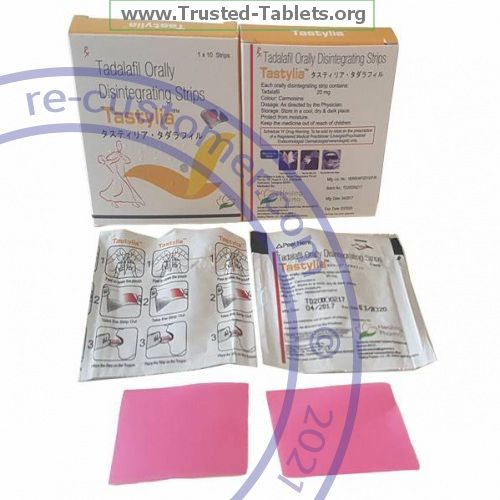 Trustedtabs Pharmacy. cialis-strips tablets. Uses, Side Effects, Interactions, Pictures