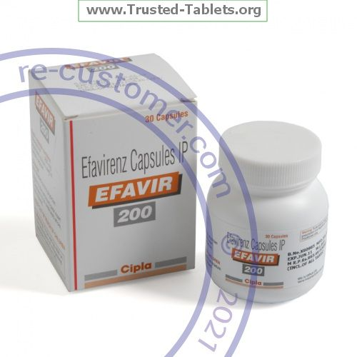 Trustedtabs Pharmacy. efavirenz tablets. Uses, Side Effects, Interactions, Pictures