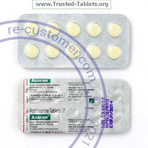 Trustedtabs Pharmacy. imuran tablets. Uses, Side Effects, Interactions, Pictures