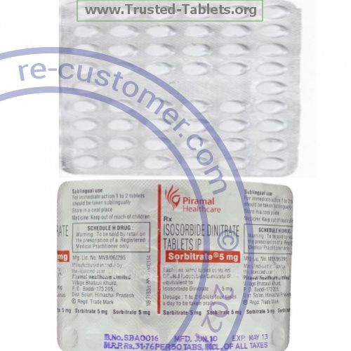 Trustedtabs Pharmacy. isordil-sublingual tablets. Uses, Side Effects, Interactions, Pictures