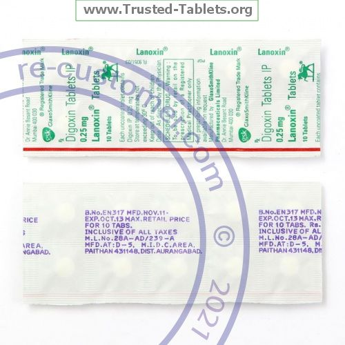 Trustedtabs Pharmacy. lanoxin tablets. Uses, Side Effects, Interactions, Pictures