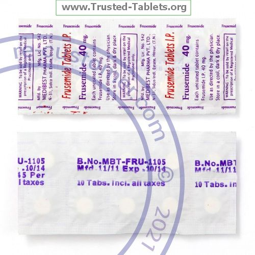 Trustedtabs Pharmacy. lasix tablets. Uses, Side Effects, Interactions, Pictures