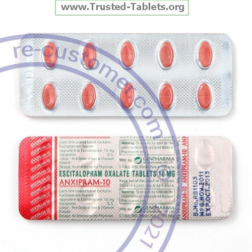 Trustedtabs Pharmacy. lexapro tablets. Uses, Side Effects, Interactions, Pictures