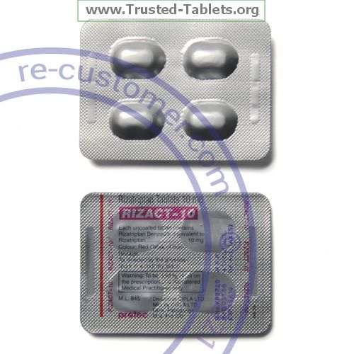 Trustedtabs Pharmacy. maxalt tablets. Uses, Side Effects, Interactions, Pictures