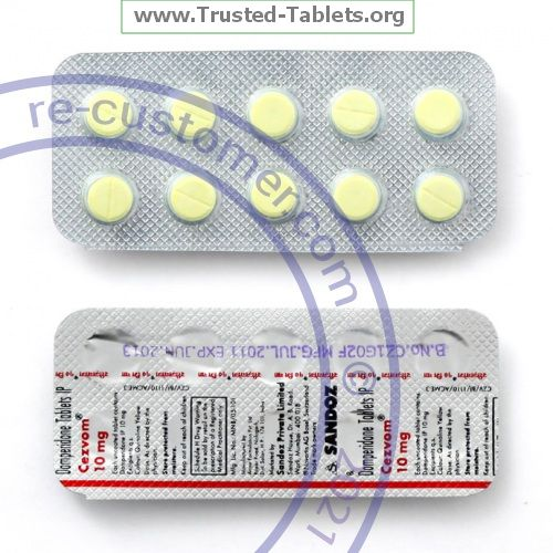 Trustedtabs Pharmacy. motilium tablets. Uses, Side Effects, Interactions, Pictures