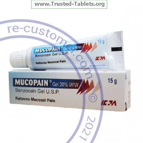 Trustedtabs Pharmacy. mucopain tablets. Uses, Side Effects, Interactions, Pictures
