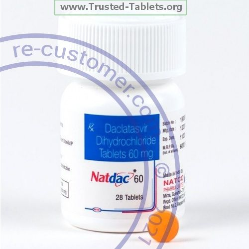 Trustedtabs Pharmacy. natdac tablets. Uses, Side Effects, Interactions, Pictures