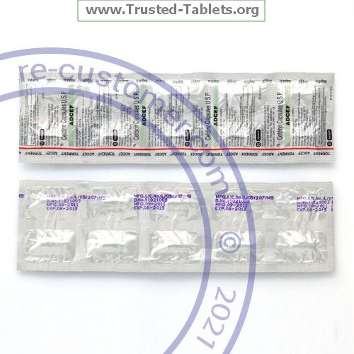 Trustedtabs Pharmacy. omnicef tablets. Uses, Side Effects, Interactions, Pictures