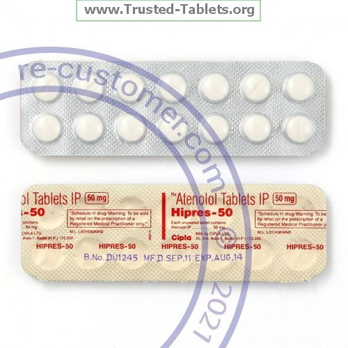 Trustedtabs Pharmacy. tenormin tablets. Uses, Side Effects, Interactions, Pictures