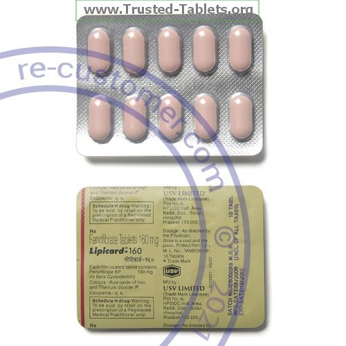 Trustedtabs Pharmacy. tricor tablets. Uses, Side Effects, Interactions, Pictures